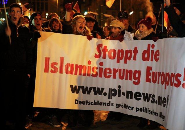 Marchas anti-islámicas en Alemania