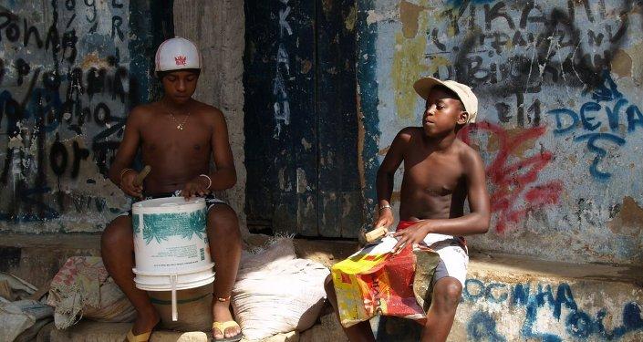 Jovenes brasileños