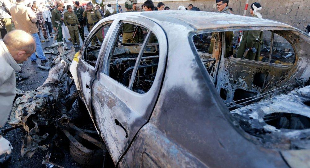 Взрыв в Йемене, 7 января 2015