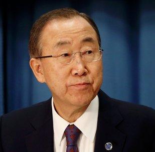 Ban Ki-moon, secretario general de la ONU