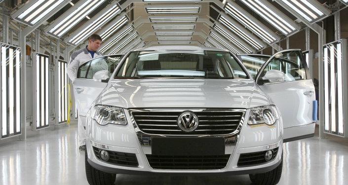 Deutscher Autobauer Volkswagen nimmt in Russland Vollfertigung auf