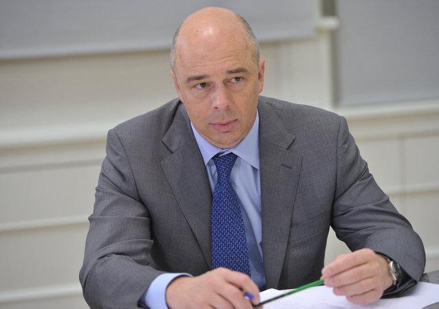 El titular ruso de Finanzas, Antón Siluánov