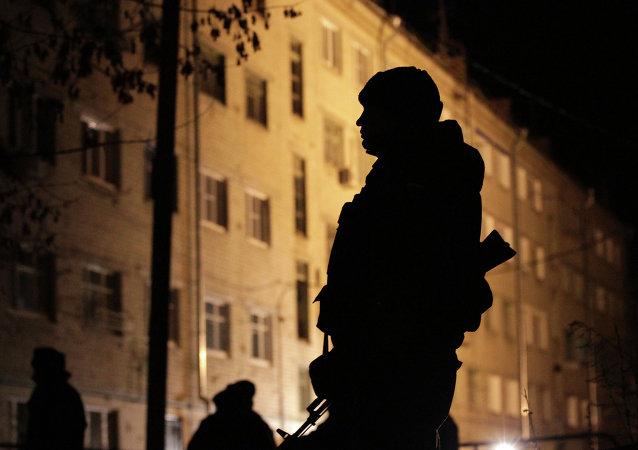 Agente de las fuerzas especiales rusas (archivo)