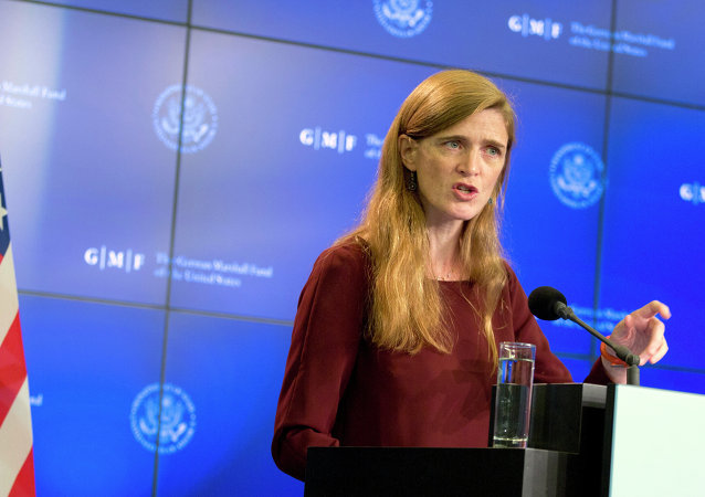 Samantha Power, embajadora de EEUU ante la ONU