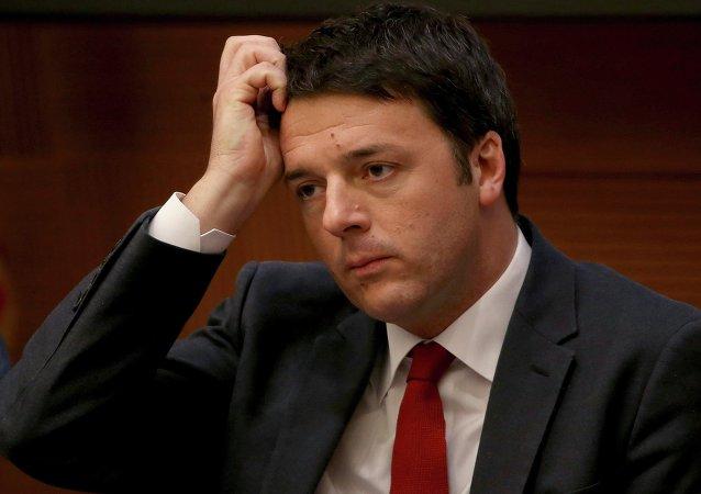 Matteo Renzi, el primer ministro de Italia