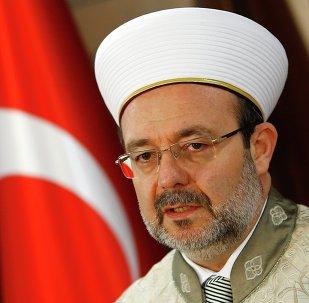 Mehmet Görmez, jefe de la Presidencia de Asuntos Religiosos de Turquía