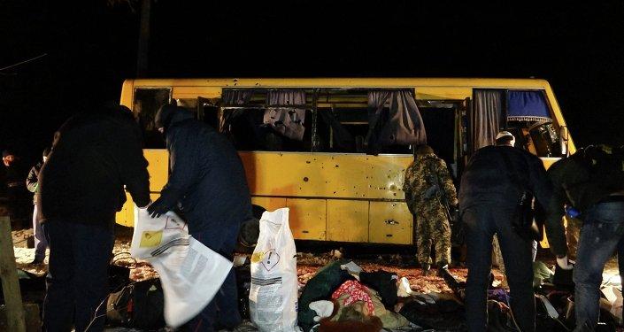 Ataque contra un autobús en Donbás es una provocación, asegura el jefe de Donetsk
