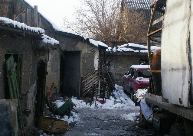 Consequencias de los ataques en Donetsk