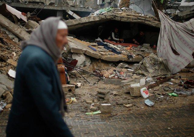 Situación en Palestina