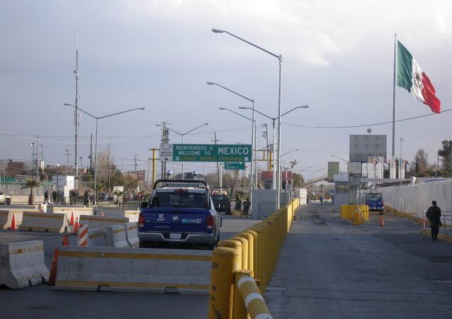 Frontera entre México y EEUU (archivo)