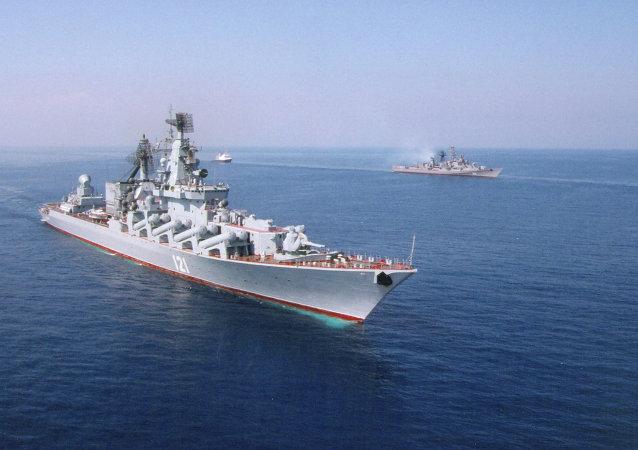 Crucero lanzamisiles Moskvá