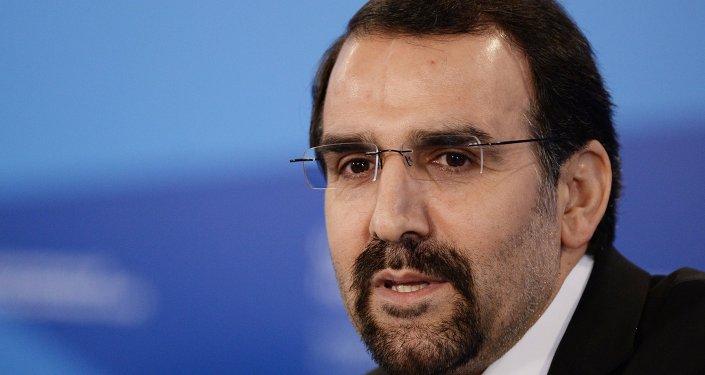 Mehdi Sanaí, embajador de Irán en la Federación Rusa