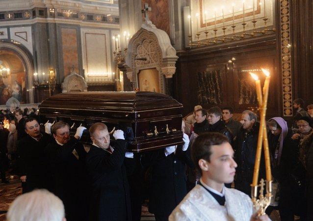 Funeral de Elena Obraztsova
