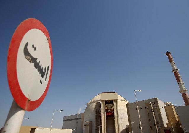 La planta nuclear Bushehr en Irán, construida junto con Rusia