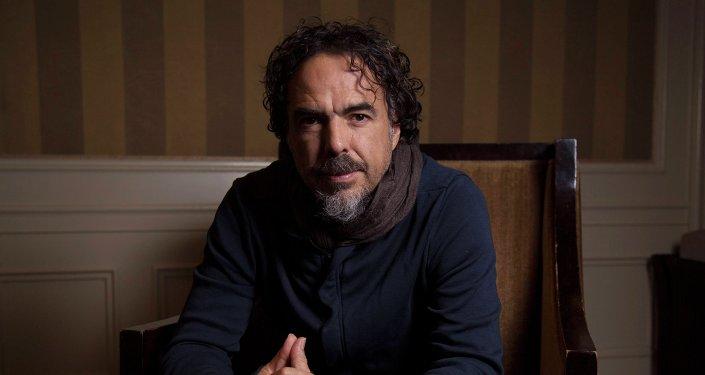 Mexican film director Alejandro Gonzalez Inarritu