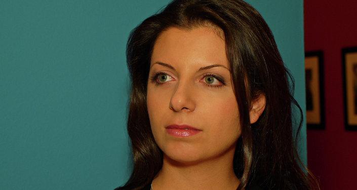 Margarita Simonyán, directora de la cadena rusa RT
