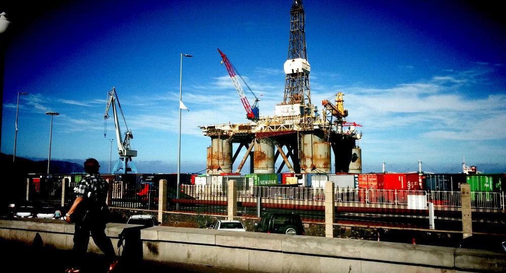 Extracción de petróleo en las Islas Canarias