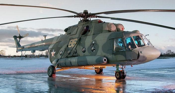 Helicóptero de combate Mi-8MTV-5