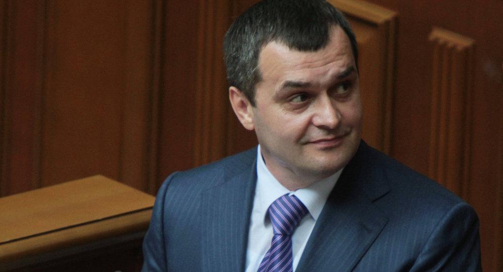 Vitaliy Zakhárchenko, exministro del Interior de Ucrania