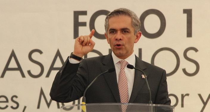 Miguel Ángel Mancera, jefe de Gobierno