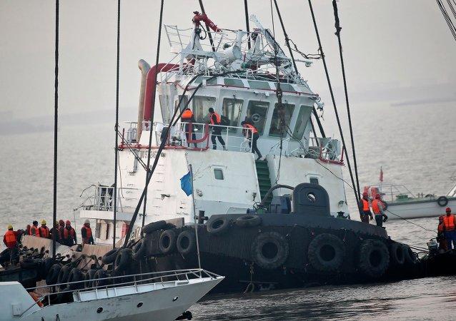 Al menos 21 personas mueren al hundirse un barco en el río chino de Yangtsé