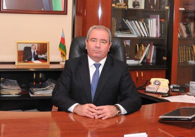 Alí Abbásov, ministro de Comunicaciones y Altas Tecnologías de Azerbaiyán