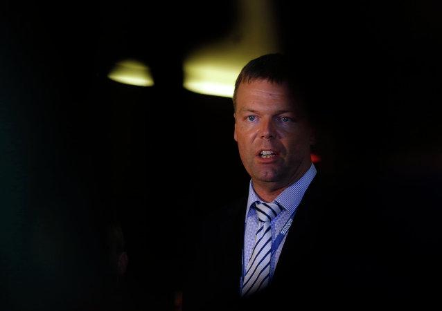 Alexander Hug, jefe adjunto de la Misión Especial de Observación de la OSCE