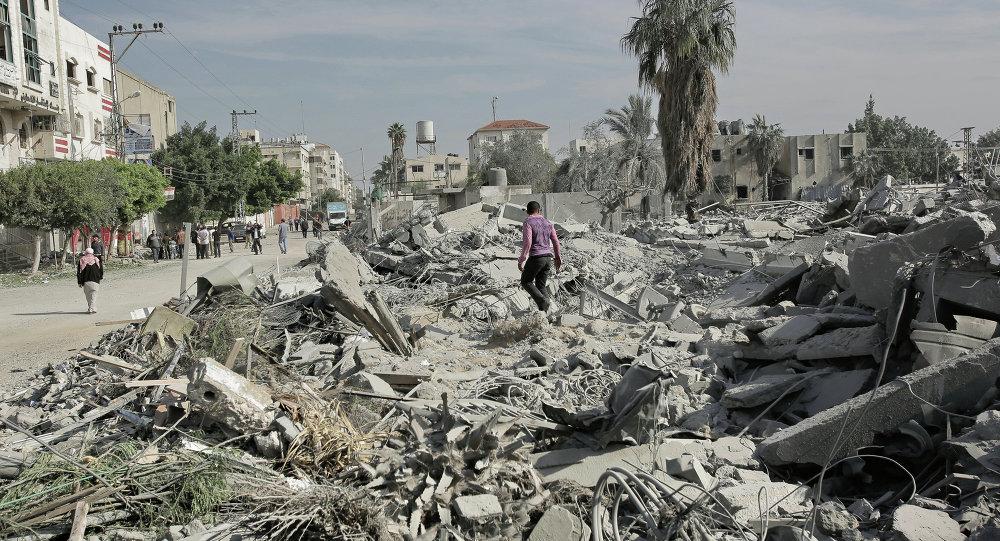 Conflicto armado entre Palestina e Israil (archivo)