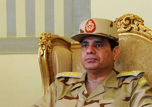 Abdelfatah al-Sisi, presidente de Egipto