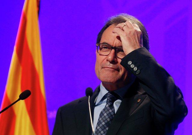 Artur Mas, presidente de la Generalidad de Cataluña