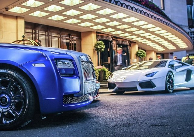 Rolls-Royce Ghost y Lamborghini Aventador
