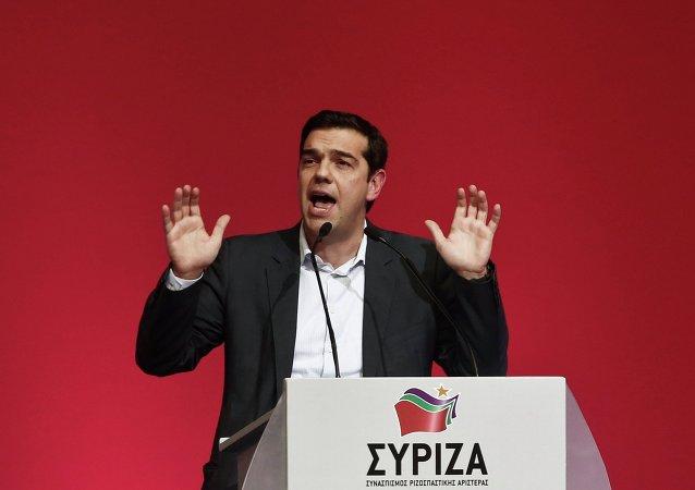 Alexis Tsipras, líder de la formación Syriza