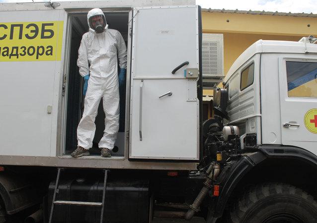 Doctor ruso en Guinea