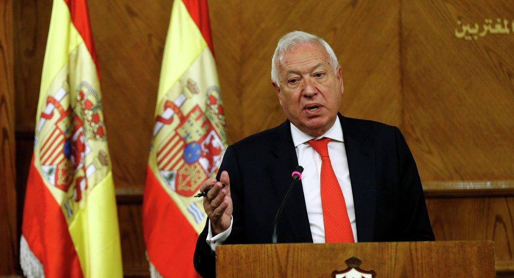 José Manuel García Margallo, ministro de Exteriores de España