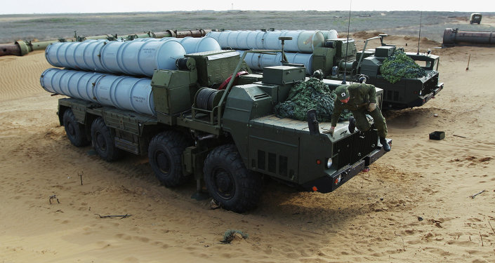 Sistema de defensa antiaérea S-300
