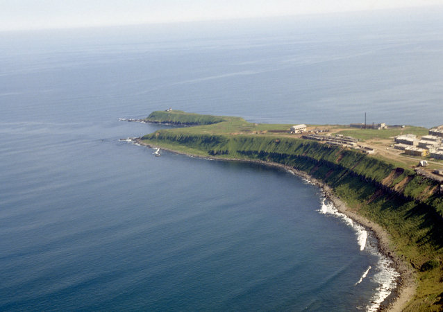 Isla Kunashir