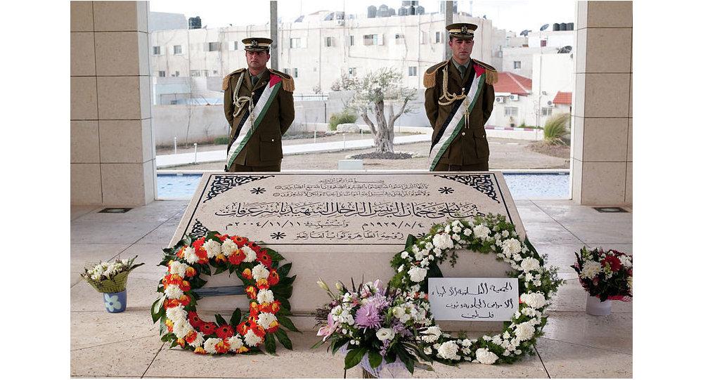 Могила Ясира Арафата