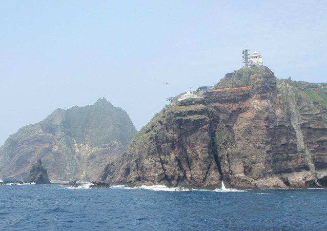 Rocas de Liancourt (Dokdo, para los coreanos, y Takeshima, para los japoneses)