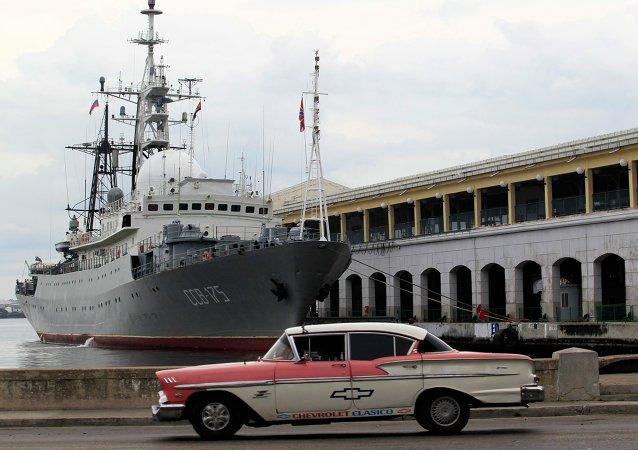 Medios informan de supuesto acercamiento de buque ruso a base de submarinos estadounidenses