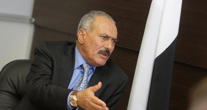 Alí Abdalá Saleh, expresidente de Yemen
