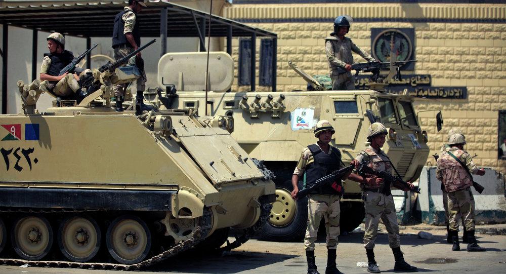 Soldados del Ejército de Egipto (archivo)