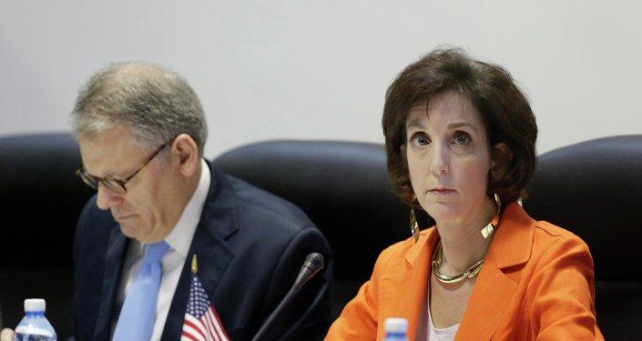 Roberta Jacobson, subsecretaria de Estado de Asuntos del Hemisferio Occidental de EEUU
