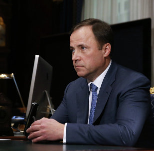 Ígor Komarov, jefe de Roscosmos