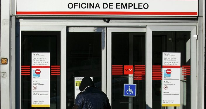 Oficina de empleo en España (archivo)
