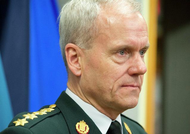 Knud Bartels, jefe del Comité Militar de la OTAN