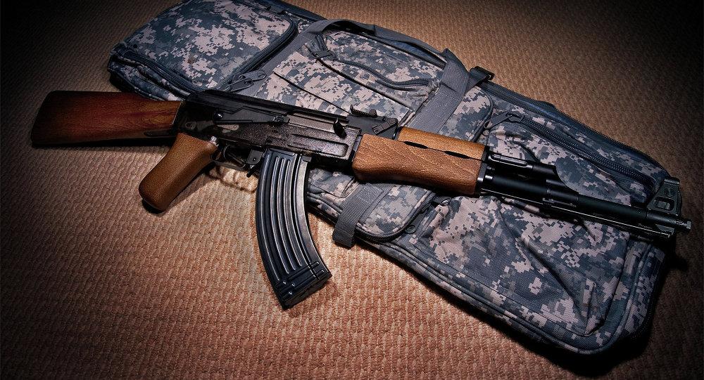 Fusil de asalto ruso Kaláshnikov
