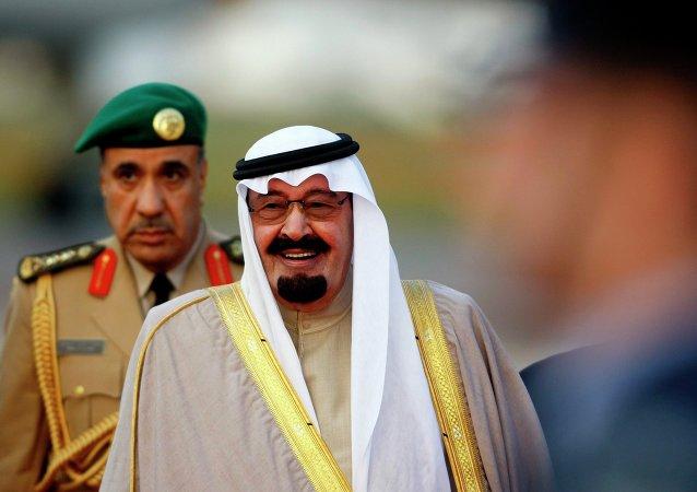 Rey de Arabia Saudí  Abdalá  (Archivo)