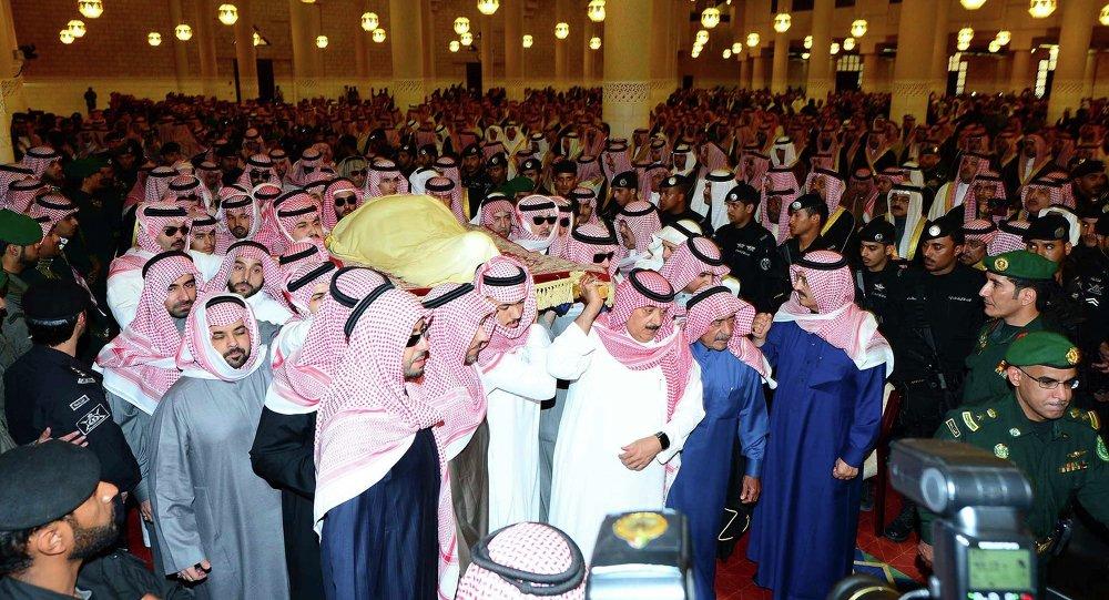 Ceremonia de despedida del rey Abdalá