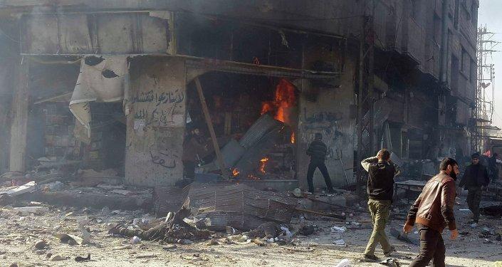 Situación en Damasco