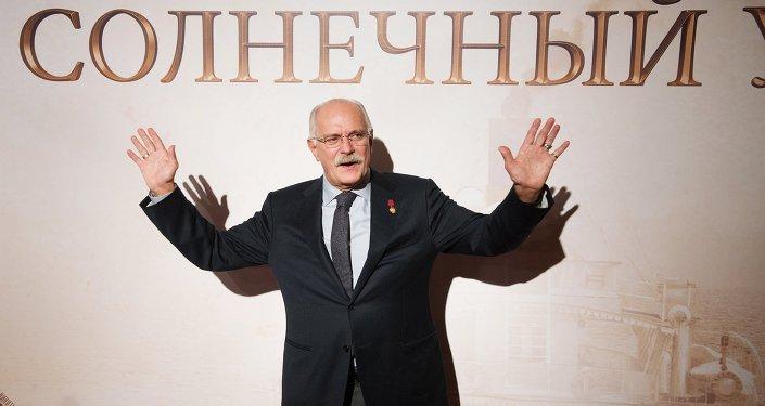 Nikita Mijalkov antes del estreno de La insolación